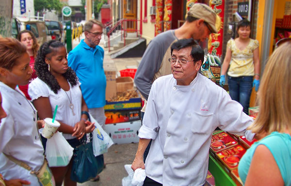 Chef Joseph Poon Wok n Walk Tour